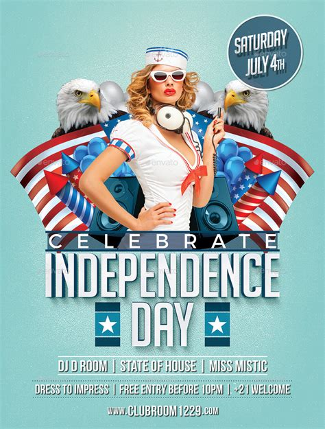 independence day flyer independence day flyer template by designroom1229