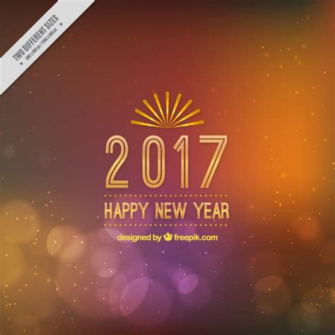 new year orange picture fantastic bokeh background for new year in orange and
