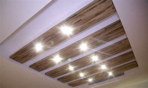 Tray Ceiling With Wood Modern Rooftop Apartment Design With Swimming Pool