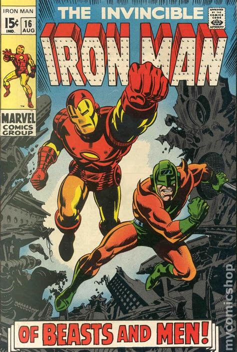 iron in my books iron comic books issue 16