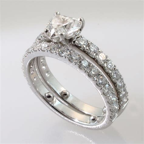trio wedding sets rings cheap wedding ring sets for his