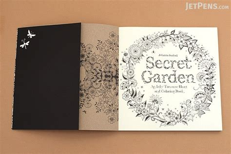 secret garden colouring book tips jetpens coloring book set jetpens