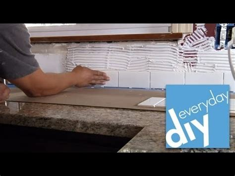 installing a plastic backsplash youtube how to install a tile backsplash part 2 buildipedia