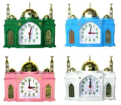 fantastic 4 clocks from islamic mosque alarm clocks