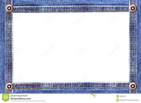 denim frame stock  image