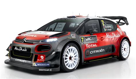 subaru wrc 2017 2017 citroen c3 wrc goes official