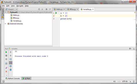 tutorial python pemula belajar pemrograman python variable full version