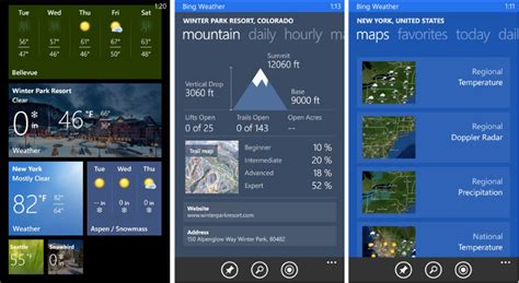 bing weather app windows phone gobble gobble 8 apps you need to make it through