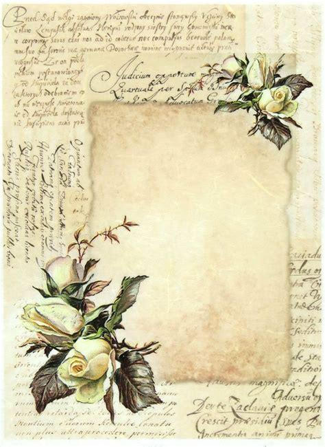 Decoupage Vintage Paper - 17 best ideas about decoupage paper on