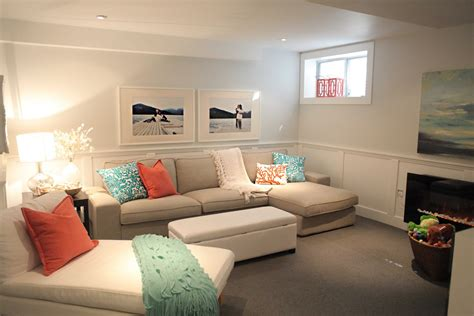 wall colors for family room beach house in the city room tour basement family room