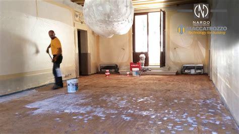 demolizione pavimento demolizione con ricostruzione a terrazzo alla veneziana