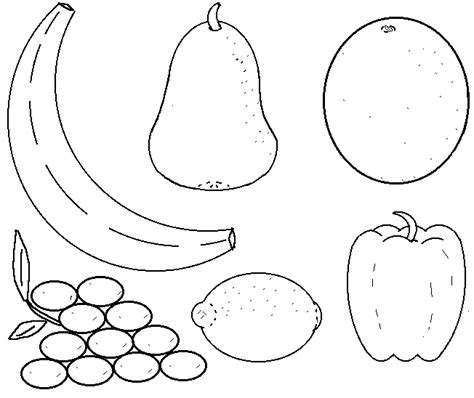 coloring pages vegetables preschoolers printable fruit coloring pages coloring me