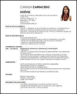 Modelos De Curriculum Vitae No Profesional Modelo Curriculum Vitae Cuidador Ejemplo Cv Livecareer