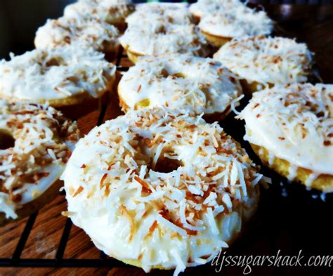 Collata Donat Glaze pina colada donuts dj s sugar shack