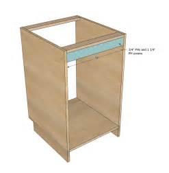 carcass kitchen cabinets ana white face frame base kitchen cabinet carcass diy projects