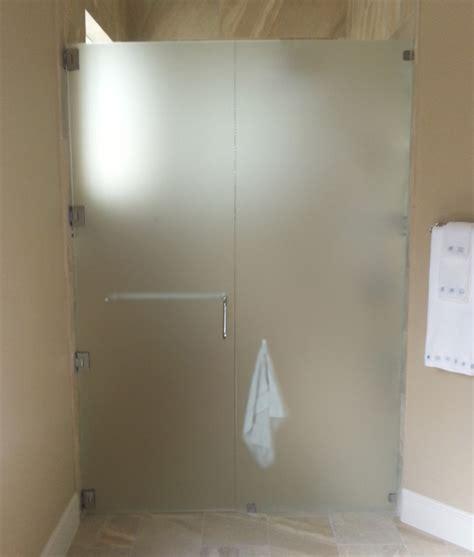 bathroom acid satindeco acid etched shower glass traditional