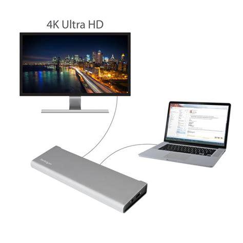 monitors with thunderbolt thunderbolt 2 laptop station dual laptop