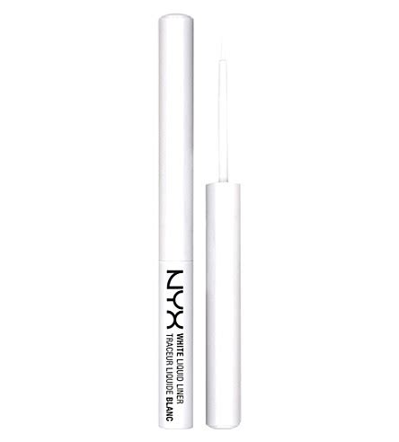 Nyx Eyeliner White nyx professional makeup white liquid liner selfridges