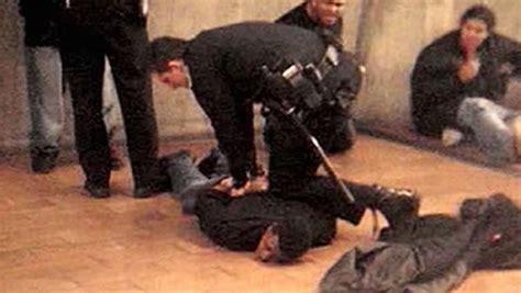 bart police shooting of oscar grant wikipedia the free bystander video of oscar grant shooting video abc7news com