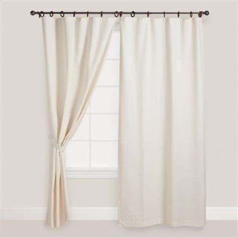 cost plus curtains natural jaya canvas curtain world market by cost plus