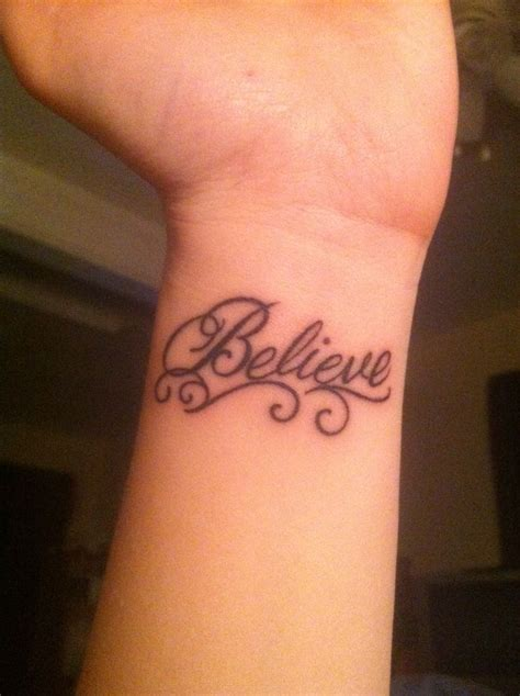 believe word tattoo designs best 20 believe tattoos ideas on daisies