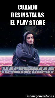 Meme Generator Play Store - meme personalizado cuando desinstalas el play store