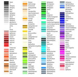 color descriptions python named colors in matplotlib stack overflow