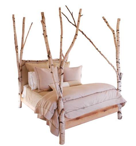 birch bark bed bedroom pinterest