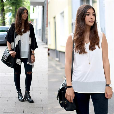Leticia Top T3009 3 leticia neidl sheinside kimono forever 21 top h m necklace asos primark boots