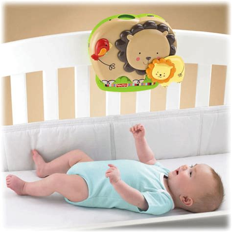 Baby Crib Soothers New Fisher Price Baby Snuggle Cub Infant Crib Soother Musical Mobile W Rc