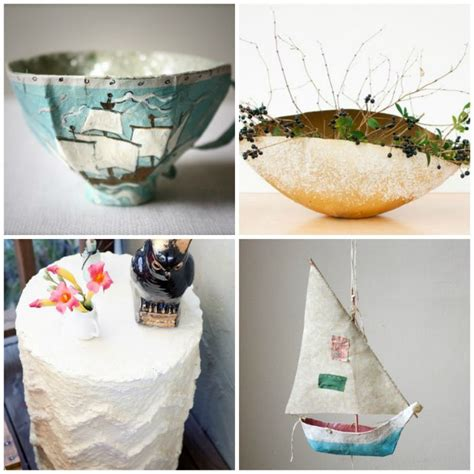 Paper Mache Craft Ideas - diy 10 stunning paper mache projects