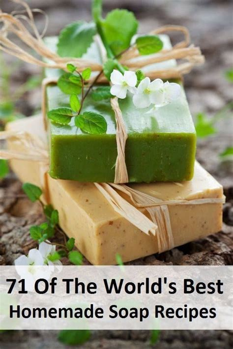 Best Handmade Soap - http www homemadehomeideas 71 of the worlds best