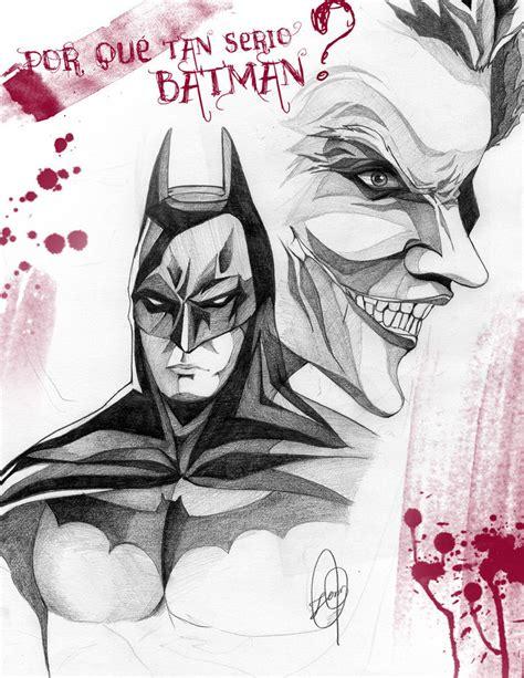 imagenes del guason para dibujar faciles batman y guason by jennyugi on deviantart