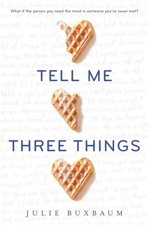 tell me what you want books three things you need to about quot tell me three things quot