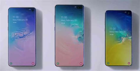 Samsung Galaxy S10 And S10e by Samsung Galaxy S10 S10 And S10e Pricing Announced By U S Carriers Phonedog