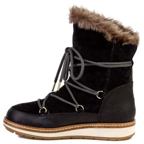 snow boots tommy hilfiger wooli bw fw black