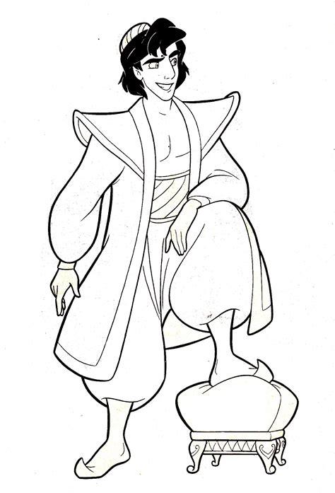 Coloriage Prince Aladdin 224 Imprimer
