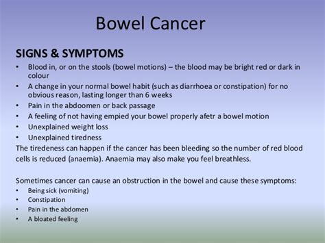 Cancer And Blood In Stool by Cancer Prevention And Early Detection