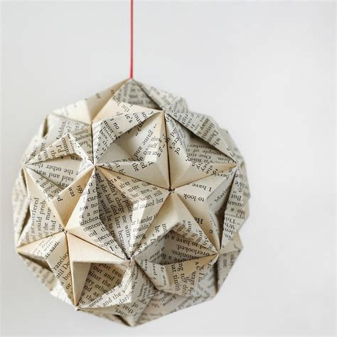 How To Make Ornaments Out Of Paper - origami the interesting of folding paper to make
