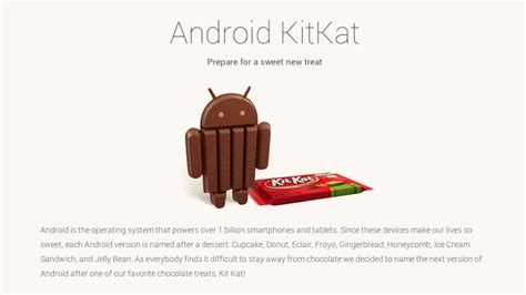 kitkat android unveils android kitkat as next major android update updated phonenews