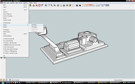 sketchbook pro export formats sketchup stl export tutorial shapeways