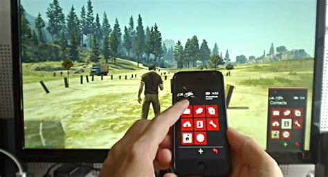 mod game for iphone gta 5 pc mod lets you use your iphone to control your in