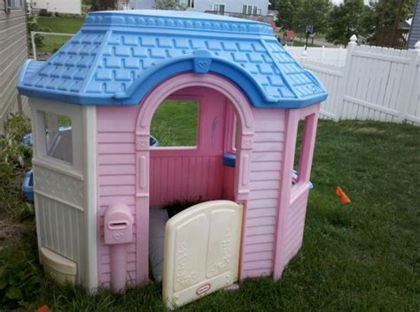 Little Tikes Victorian Cottage Playhouse Grandchildren Tikes Pink Cottage