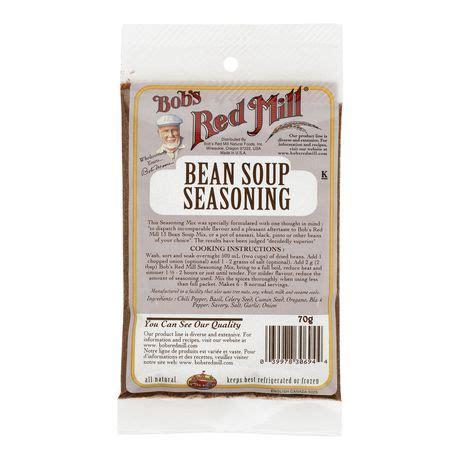 bobs red mill bean soup seasoning mix walmartca