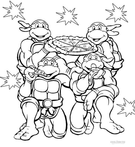 Get This Teenage Mutant Ninja Turtles Coloring Pages Free Mutant Turtles Coloring Page