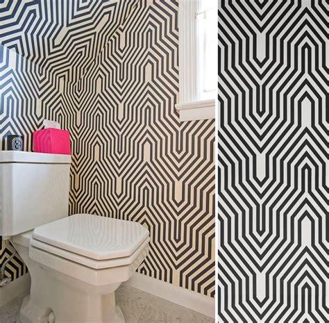Tapisserie Toilette by Quel Papier Peint Pour Des Toilettes Au Fil Des