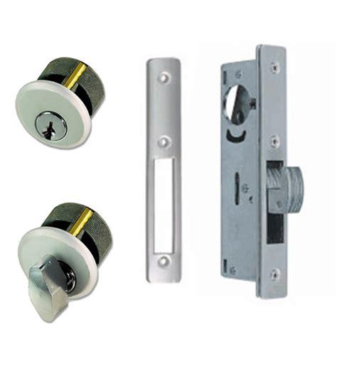 Sliding Door Mortise Lock by Sliding Storefront Door Mortise Deadbolt Lockset Zinc