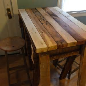 Reclaimed Wood Kitchen Islands reclaimed wood kitchen island top living spaces pinterest wood