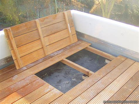 terrasse douglasie terrassenboden mit aufnehmbaren revisionsklappen n37
