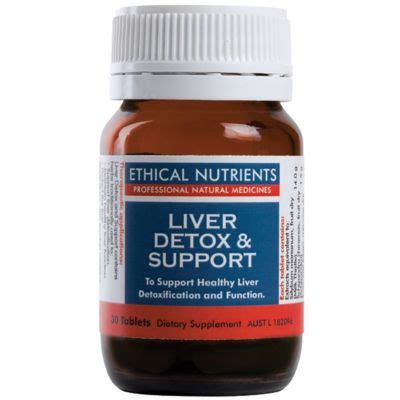 Liver Detox Articles by Ethical Nutrients Liver Detox Support
